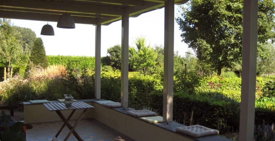 Veranda Wadenoijen interieur veranda