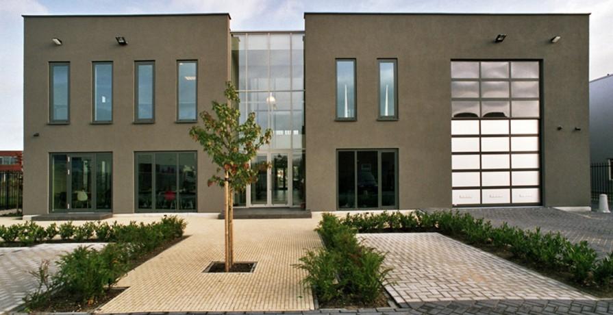 Kantoor Schalke & Partners aanzicht achtergevel