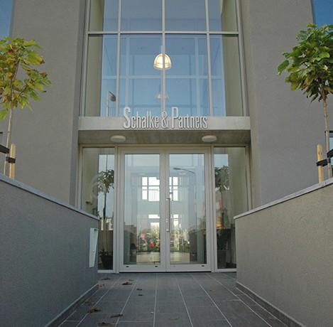 Kantoor Schalke & Partners ingang