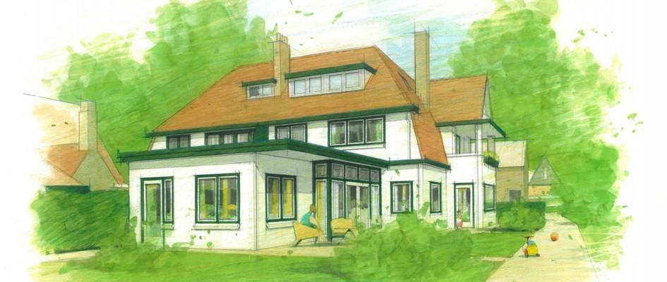 2013 is voor BARST gestart met een mooie opgave in het fraaie Lyceumkwartier in Zeist. Een half vrijstaand landhuis, ontworpen in 1928, gebouwd in 1931 krijgt nieuwe bewoners. Voor zij de woning betrekken zal de woning aan binnen- en buitenzijde verbouwd en gerenoveerd worden.