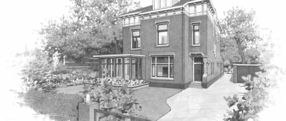 BARST is als architect van A tot Z betrokken bij de werkzaamheden die plaatsvinden aan een villa aan de Badhuisweg tussen Den Haag en Scheveningen. Het huis uit 1905 is gelegen in de kleinschalige wijk Wittebrug en maakt onderdeel beschermd stadsgezicht. Het pand was de afgelopen decennia eigendom van de